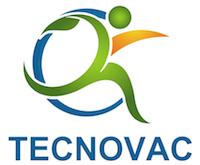 Logo TECNOVAC Climatisation Photovoltaique Solaire Electricité Plomberie Nimes