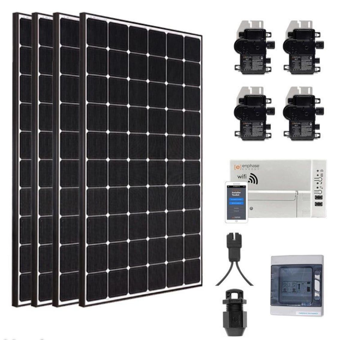 Kit Solaire Photovoltaique autoconsommation 1200W