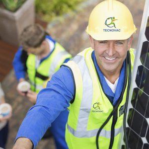 Panneaux solaire logo sur casque