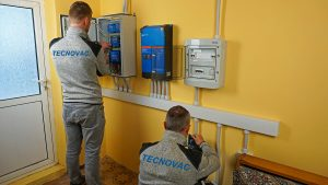 Site isolé Installateur installation-victron-energie-multiplus GARD